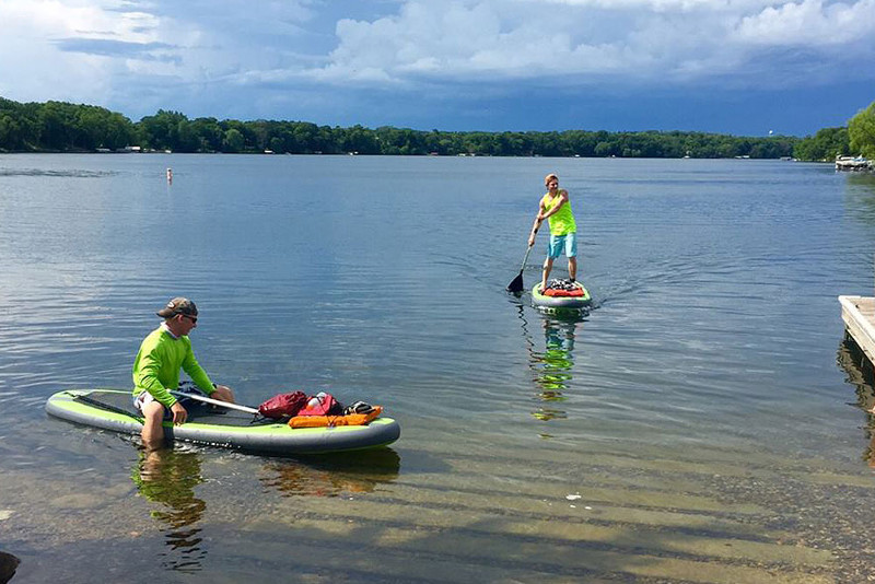 OTF-8254SUP 8' iSUP Board review