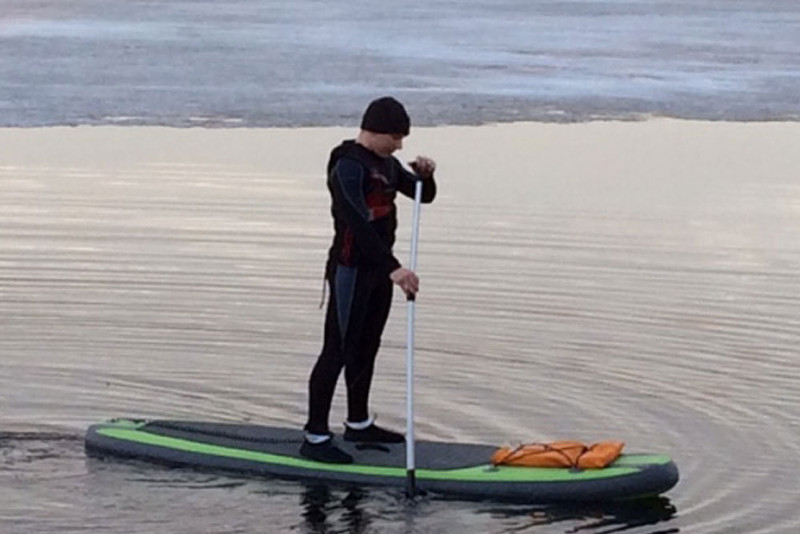 OTF-8254SUP 8' inflatable stand up paddle board