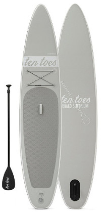 Ten Toes theGLOBETROTTER inflatable paddle board review