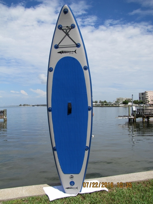 Wakooda GT126 inflatable standup paddle board review