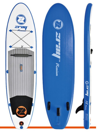 Zray A2 Premium inflatable stand up paddle board review
