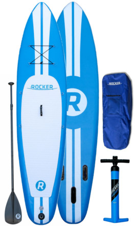 iRocker inflatable stand up paddle board review