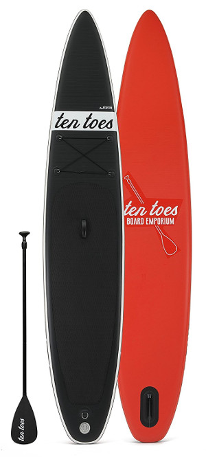 ten toes theJETSETTER iSUP Board review