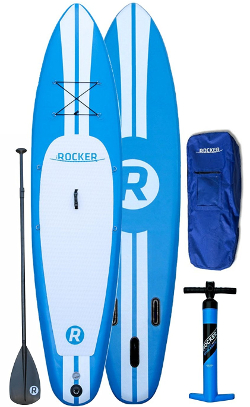 iRocker 10' inflatable SUP board review