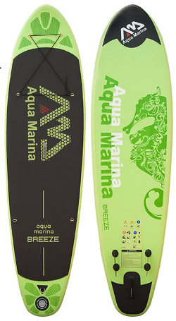 Aqua Marina Breeze cheap inflatable paddle board review