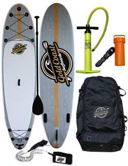 Gold Coast Surfboards Aqua Discover inflatable paddle board review