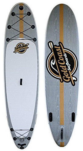 Gold Coast Surfboards Aqua Discover inflatable stand up paddle board review