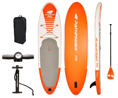 Pathfinder p73 cheap inflatable SUP board review