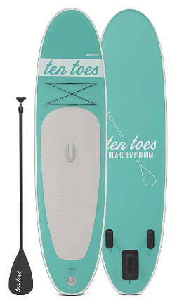 Ten Toes Weekender inflatable paddle board review
