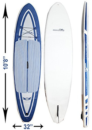 "WaveDream 10'8"" inflatable paddle board review"