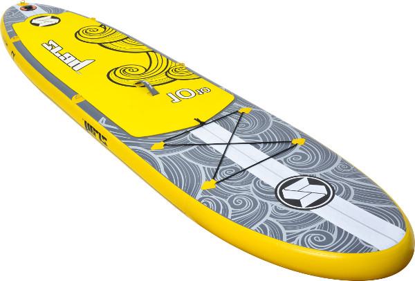 "Zray X2 10'10"" inflatable stand up paddle board review"