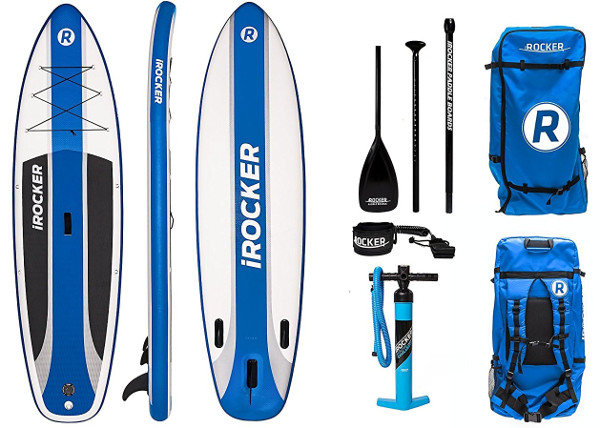 "iRocker Cruiser 10'6"" inches Inflatable Paddle Board review"