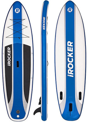 "iRocker Cruiser 10'6"" inflatable stand up paddle board review"