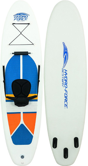 Bestway HydroForce White Cap Inflatable SUP board review