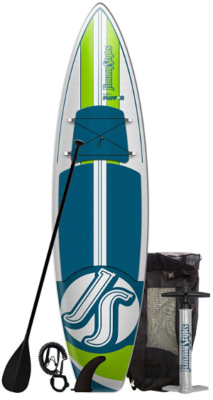 Jimmy Styks Puffer Inflatable Stand up Paddle board review