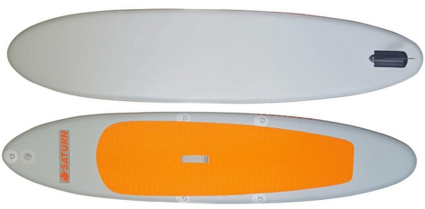 Saturn 11' Orange Top Inflatable stand up Paddle Board Review