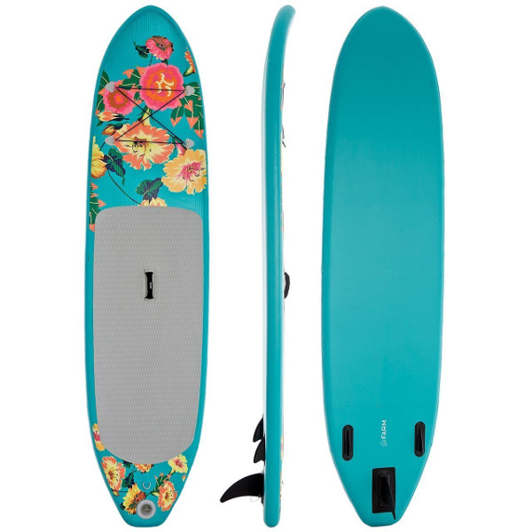 Supflex 10′ Fun Flowery Inflatable SUP Board Review