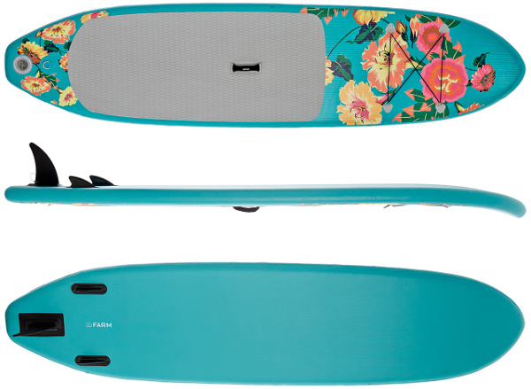 Supflex 10' Fun Flowery Inflatable SUP Board review