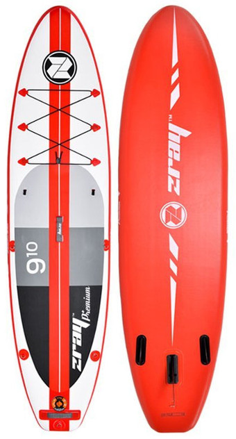 "Zray A1 Premium 9'10"" inflatable stand up Paddle Board"