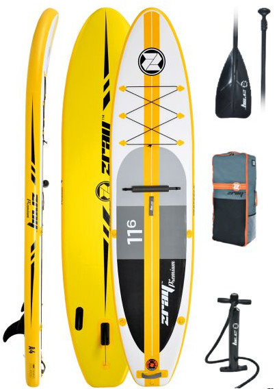 Zray A4 11'6″ Inflatable SUP Board review