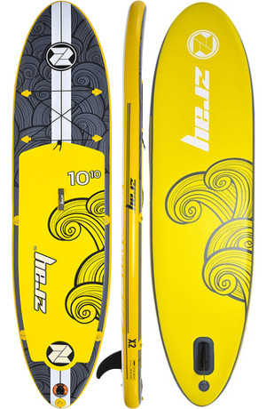 """Zray X2 10'10"""" inflatable SUP Board Review"""