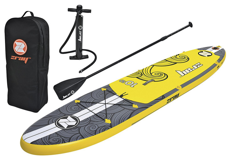 """Zray X2 10'10"""" inflatable stand up paddle board review"""