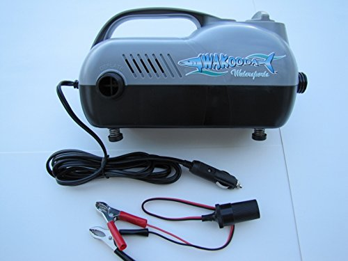 Wakooda 2 Stage Electric SUP Pump Review