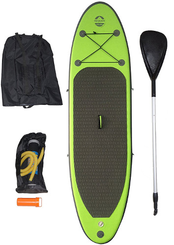 Outdoor Tuff OTF-8254SUP inflatable paddle board review