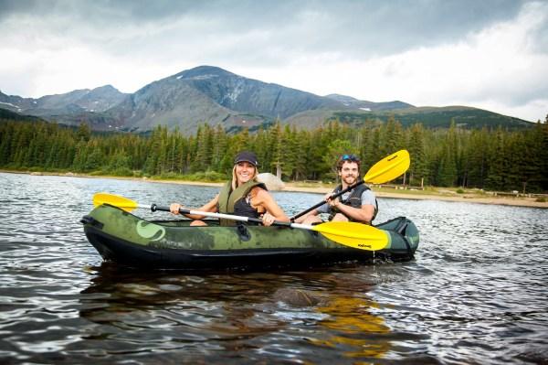 Coleman Colarado inflatable fishing kayak review