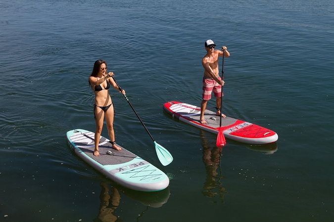 Review of PEAK Inflatable Stand Up Paddle Board