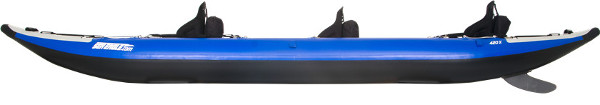 sea eagle 420x inflatable kayak review - sideview