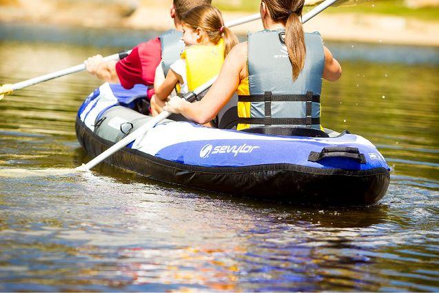 Coleman Big Basin Inflatable Kayak Review | WavesChamp