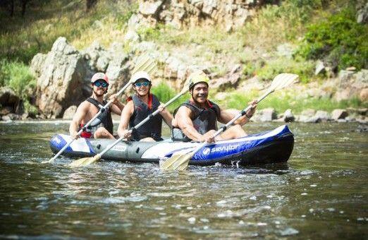 Sevylor Coleman Big Basin multi-person inflatable Kayak Review