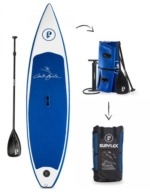 Supflex Carlos Brule inflatable SUP Board Review