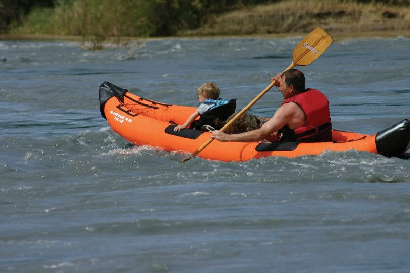 AIRHEAD AHTK-2 Montana inflatable kayak Review