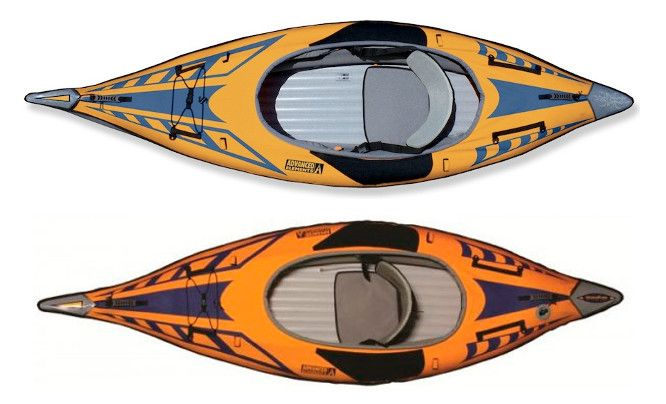 Advanced Elements AdvancedFrame Sport Kayak Review