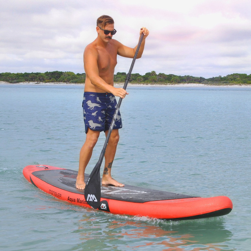 Aqua Marina Monster Inflatable Sup Board Review Waveschamp