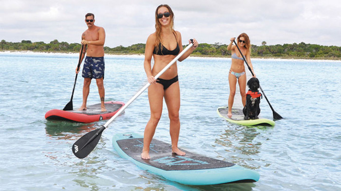 42e385bcb5da67 Aqua Marina Vapor Inflatable SUP Board Review | WavesChamp