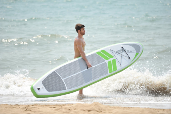 Blue Wave Sports Manta Ray 12' iSUP board review