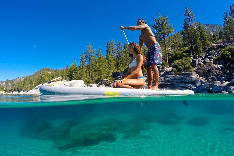 ISLE 11 Explorer Airtech inflatable Stand up Paddle Board