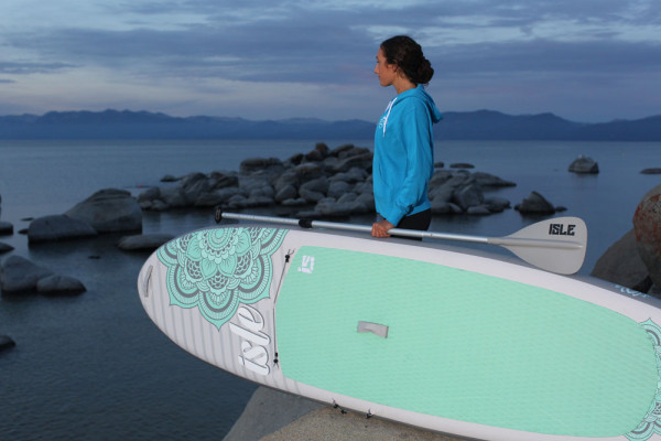 "ISLE Airtech 10'4"" Womens Airtech Inflatable Stand up Paddle Board review"