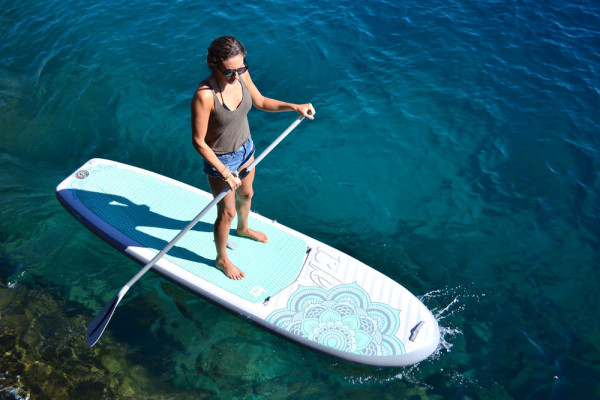 ISLE 10'4 Womens Airtech Inflatable Paddle Board Review