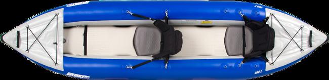 Sea Eagle 380X inflatable Kayak Review