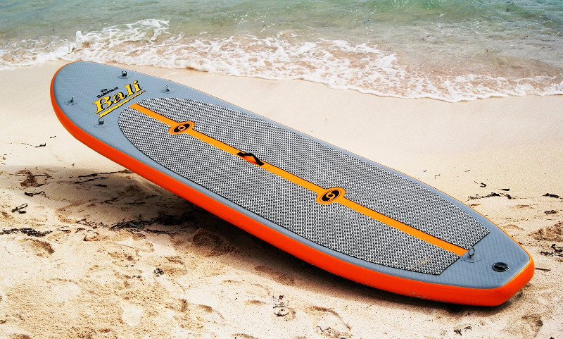 """Solstice Bali 10'8"""" inflatable Stand up Paddle board review"""