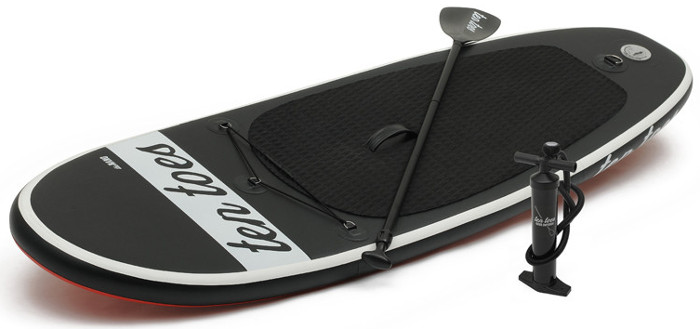 Ten Toes 8' inflatable stand up paddle board review