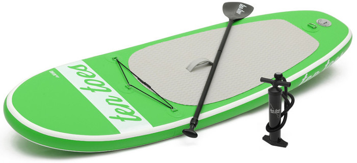 Ten Toes 8' theNANO inflatable stand up paddle board review