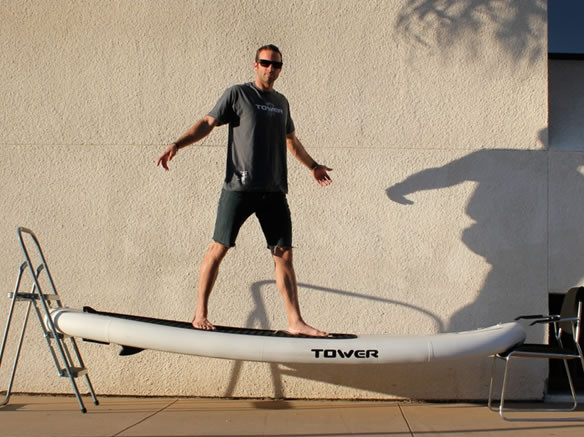 Tower paddle boards adventurer 1 inflatable SUP board