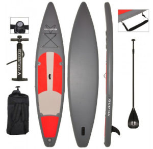 Vilano 12' Touring/Race inflatable stand up paddle board review