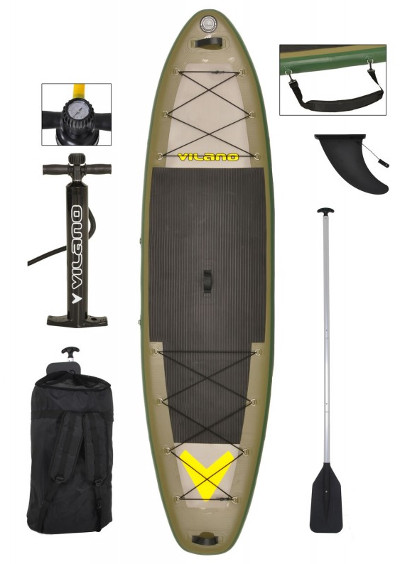 Vilano Sport/Fishing Inflatable SUP Board review