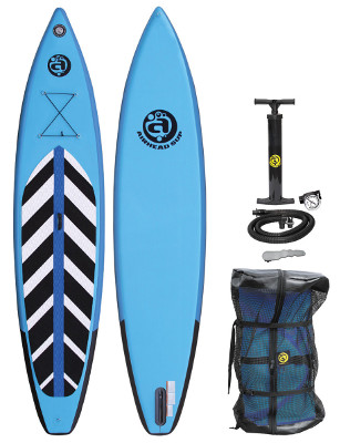 Airhead Pace 1230 inflatable stand up paddle board review